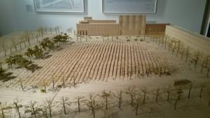 Model af jødisk mindesmærke Berlin
